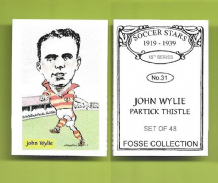 Partick Thistle John Wylie 31 (FC)